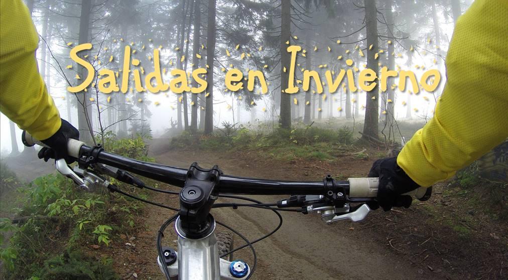 consejos para salir en bicicleta en invierno